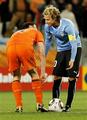 Diego Forlan & Mark van Bommel