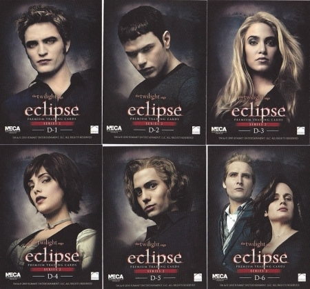 Robert Pattinson Middle  on Robert Pattinson Eclipse Trading Cards Series 2