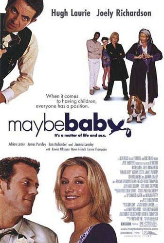 Emma & Hugh on cover of Maybe Baby