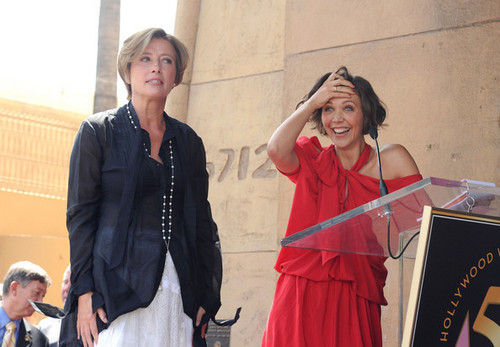 Emma Thompson Gets a سٹار, ستارہ on the Walk of Fame