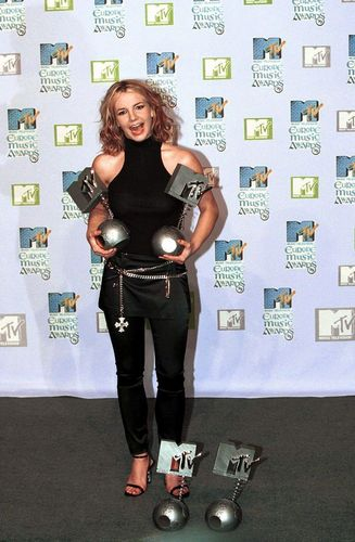 Europe musique Awards,Dublin,1999