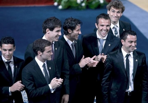 Fernando Llorente - Prince of Asturias Awards 2010