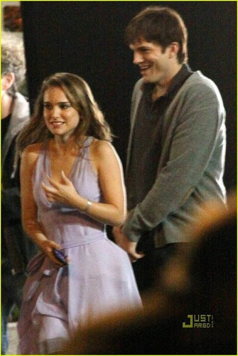 Filming reshoots with Ashton Kutcher, Los Angeles, CA