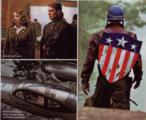 First look: Captain America चित्रो (Entertainment Weekly)