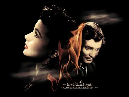 GWTW_Paper - vivien-leigh Wallpaper