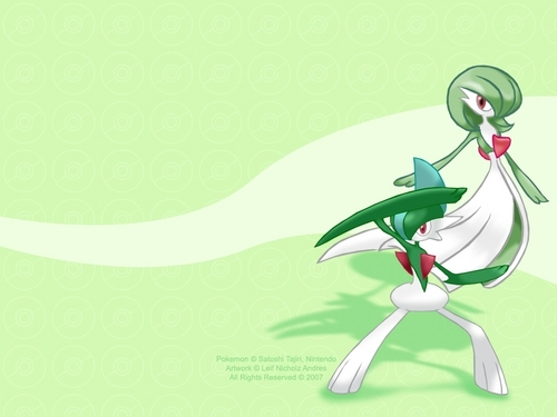 Gardevoir and Gallade