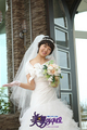 Go Mi Nyeo with wedding dress