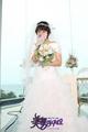 Go Mi Nyeo with wedding dress