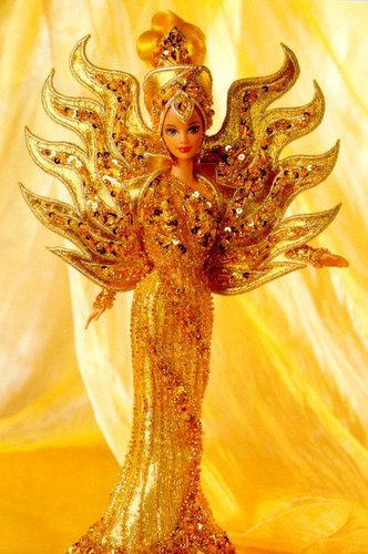Goddess of the Sun barbie Doll