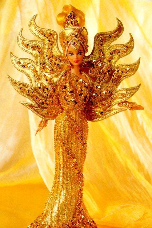 Goddess of the Sun Barbie Doll