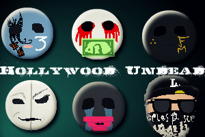 Hollywood Undead hình nền titled HU MASKS