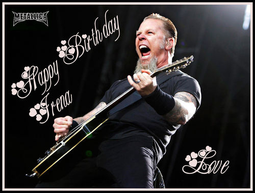 Happy Birthday ... :) - james-hetfield Fan Art