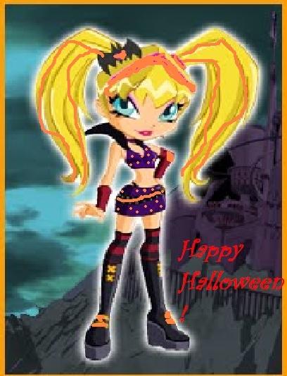 Winx halloween и Приятное для сайта волшебниц!