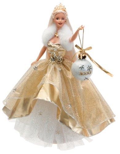 Holiday barbie 2000