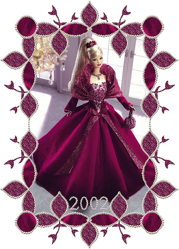 Holiday Barbie 2002