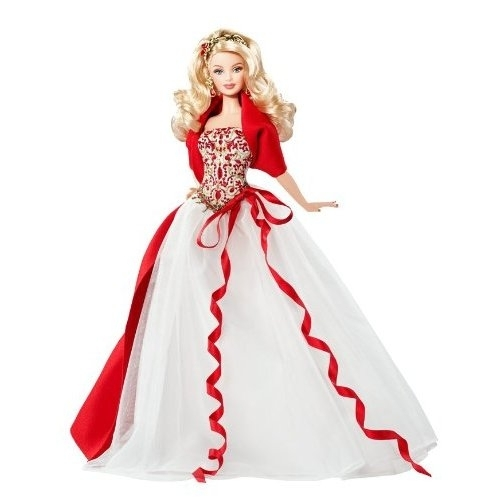 Holiday barbie 2010