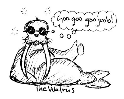 Users 图标 壁纸 entitled I am the Walrus