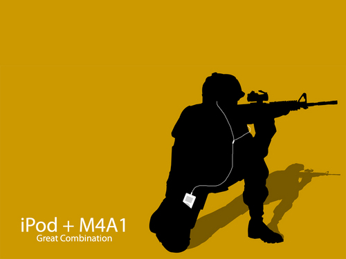 ipod M4A1