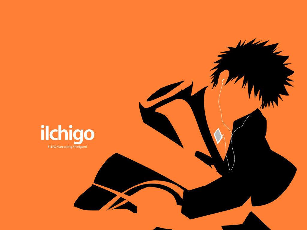 Ichigo ipod anime