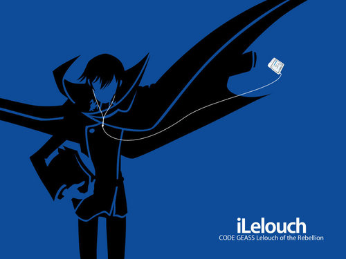 Ipod theme - anime Wallpaper