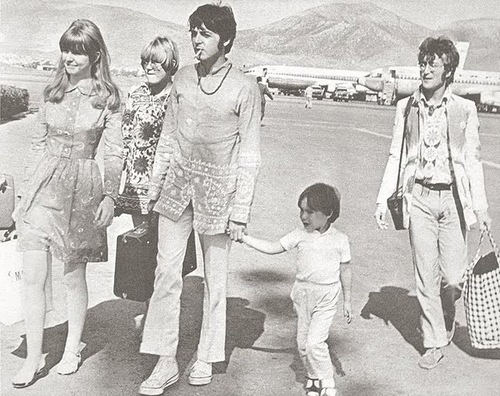 Jane, Paul, Julian and John in Greece