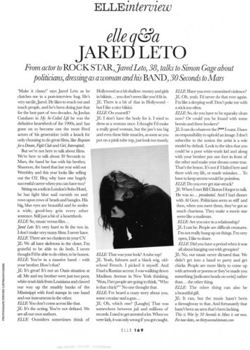 Jared in Elle UK