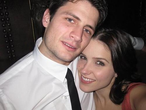 Sophia Bush and ex-boyfriend James Lafferty