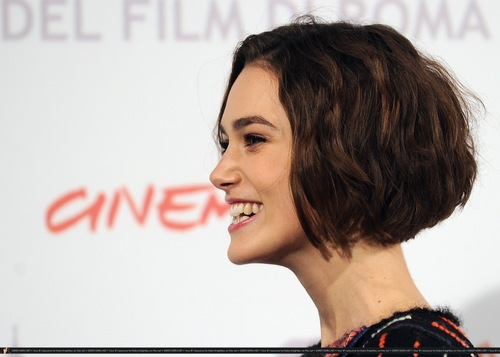 """Keira Knightley wallpaper with a portrait titled Keira @ """"Last Night"""" Photocall / Press Conference @ The Rome Film Festival"""