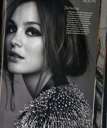 Leighton for Marie Claire UK - December 2010