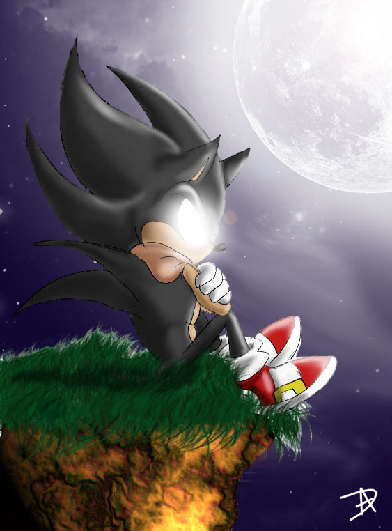 Dark Super Sonic Images Lonely HD Wallpaper And Background Photos