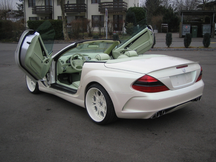 MERCEDES - BENZ SL55 par FAB design