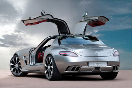 MERCEDES - BENZ SLS AMG por AK CAR design