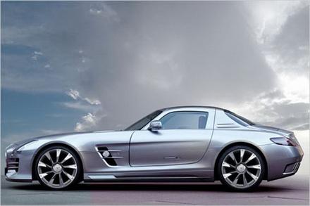 MERCEDES - BENZ SLS AMG oleh AK CAR desain