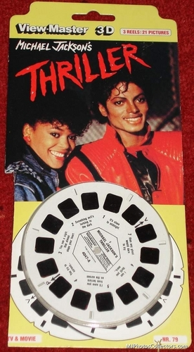 MJ with 3D...in thriller era!!Futuristic.