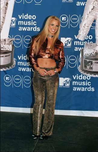 britney spears fondo de pantalla with a portrait entitled mtv Video música Awards,NY,1999