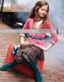 Mackenzie Foy(Garnet Hill Holiday 2010) - mackenzie-foy photo