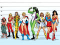 Marvel &amp; DC Femmes - femme-fatales wallpaper