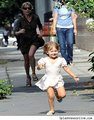 Matilda running away from Michelle:p