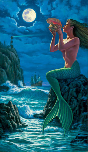 Mermaid Of The lighthouse