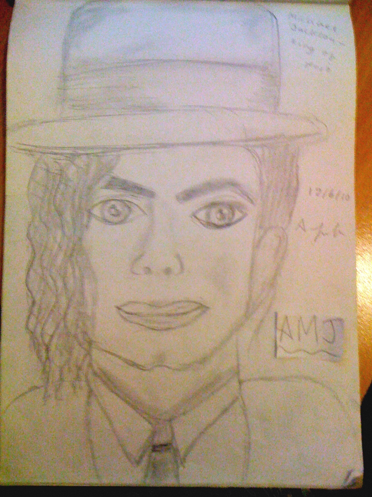Micheal Jackson Drawing