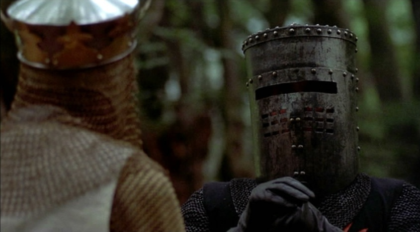 monty python and the holy grail satire essay As sir galahad (monty python and the holy grail) is on his quest to find the holy   essay sample on sir gawain and the green knight and monty python and the.