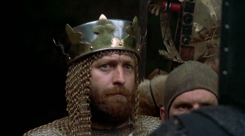 Monty python and the holy grail monty python image - King arthur s round table found ...