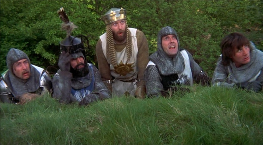 an analysis of monty python and the holy grail Monty python and the holy grail is one of the few comedy films which continues to deserve its hype now thirty-eight years old, it remains incessantly hilarious.