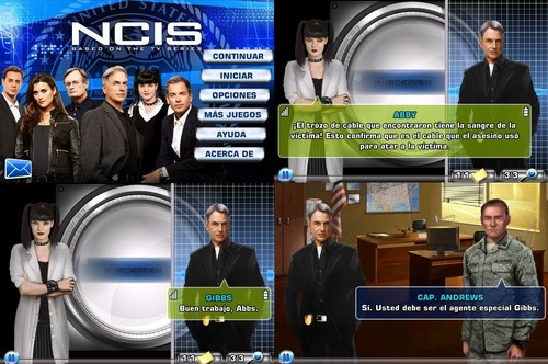NCIS GAME (IPOD TOUCH, IPHONE AND IPAD) - SPANISH VERSION