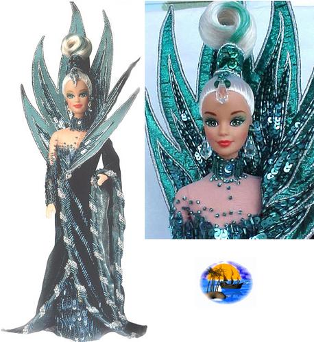 Neptune Goddess Barbie Doll