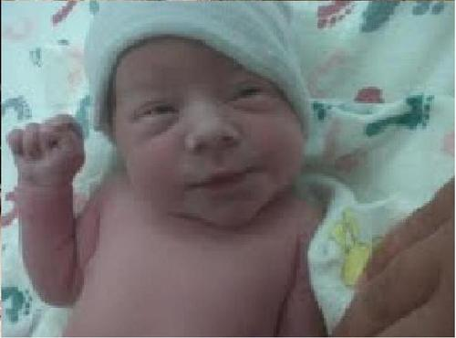 Newborn Renesmee Cullen