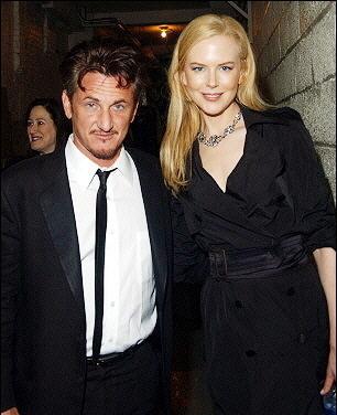 Nicole Kidman and Sean Penn