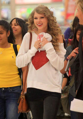 October 25 - Buying her album at Target