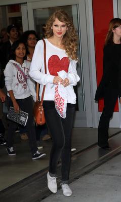 October 25 - Buying her album at Target