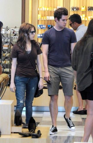 October 4th: Shopping at Barney's with a freind